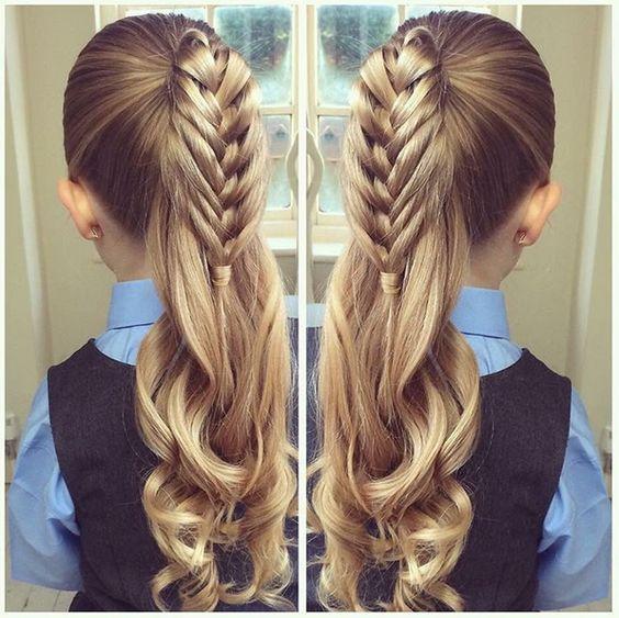 Les 25 meilleures id es concernant coiffure pour petite fille sur pinterest tresse pour petite for Comidee coiffure petite fille