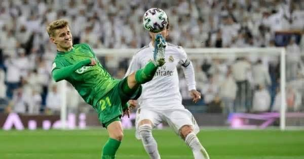 Real Sociedad Edge Closer To All Basque Spanish Cup Final Get The Latest News For Realmadrid Inside Pinterest On Th In 2020 Cup Final Real Madrid Goal Real Sociedad