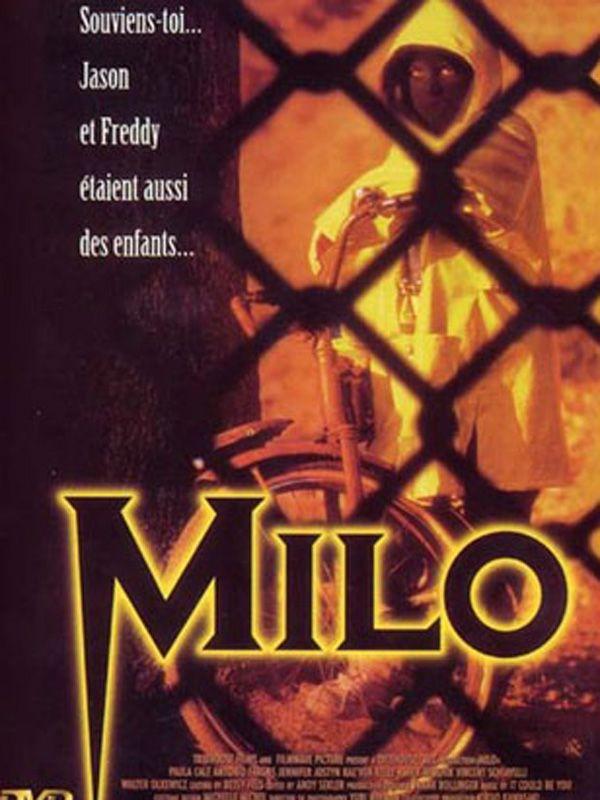 Creepy horror movies from the 90s - Milo (1998). Themes: evil kids, evil children, possessed kids, possessed children, bad kids, bad children, murder in school, serial killer