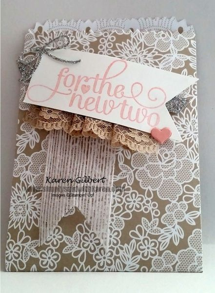 For The New Two Gift Bag by kaygee47 - Cards and Paper Crafts at Splitcoaststampers