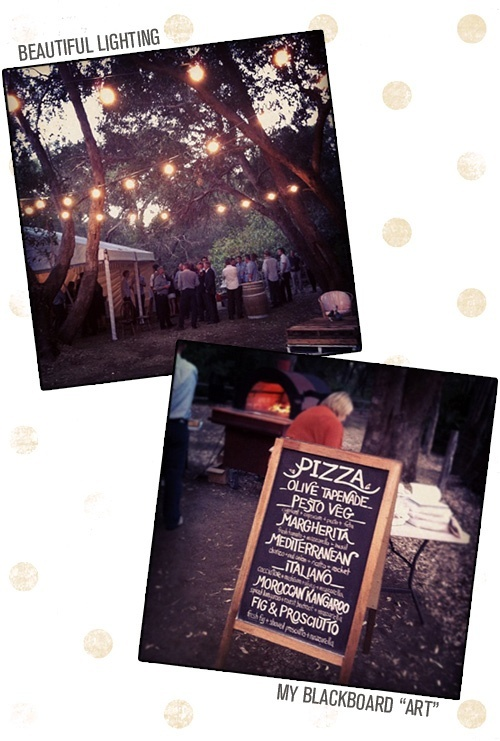 Pizza Menu Catering Party Wedding Reception Circus Chalkboard Signs Ideas
