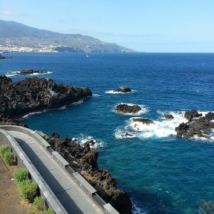 Santa Cruz de La Palma, desde el hotel Taburiente H10, Playa de Los Cancajos.