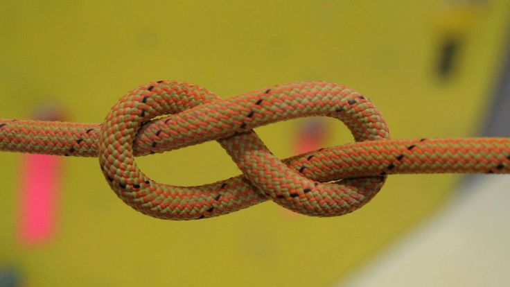How to Tie Figure 8 Follow-Through Knot with a double fisherman's as a safety knot | Rock Climbing. Has some nifty beginner's tricks for remembering.