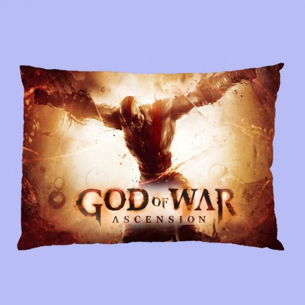 god of war ascension Rectangle Pillow Cases comfortable to sleep code ME1101