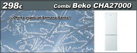 Oferton! Quieres conseguir tu nuevo frigorífico combi de 1,70m con sistema semi no-frost de BEKO por menos de 300€? En www.esmio.es hemos pensado en todos aquellos que a la vuelta de vacaciones quereis comprar bonito y barato! Así que hechar un vistazo en nuestro blog a las bondades de los nuevos combi Beko y a por ellos: http://www.esmio.es/blog/?p=3611