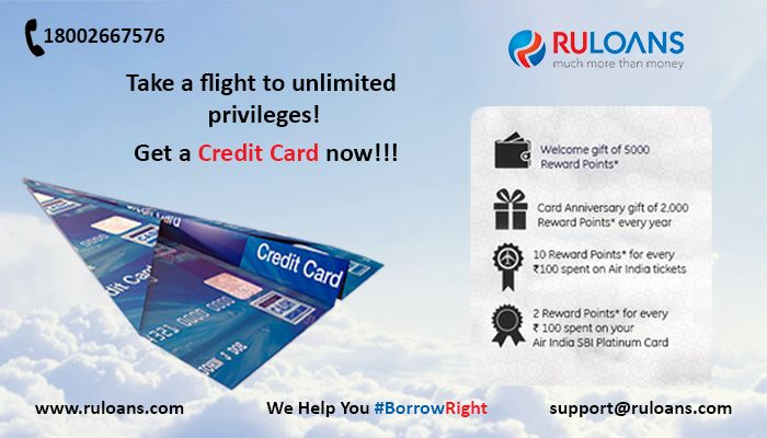 Earn Up to 100,000 Bonus Reward Points with your Credit Card. For more details visit - https://www.ruloans.com/credit-cards/sbi-credit-cards #Ruloans #BorrowRight