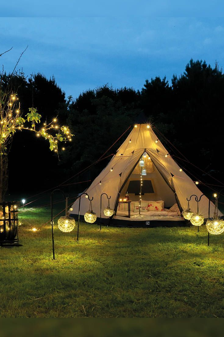 Outdoor Lighting By Festive Lights Specialists In Outdoor Lights In 2020 Camping Lights Outdoor Lighting Tent Glamping