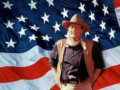 John Wayne, The Pledge of Allegiance, Taps, and America