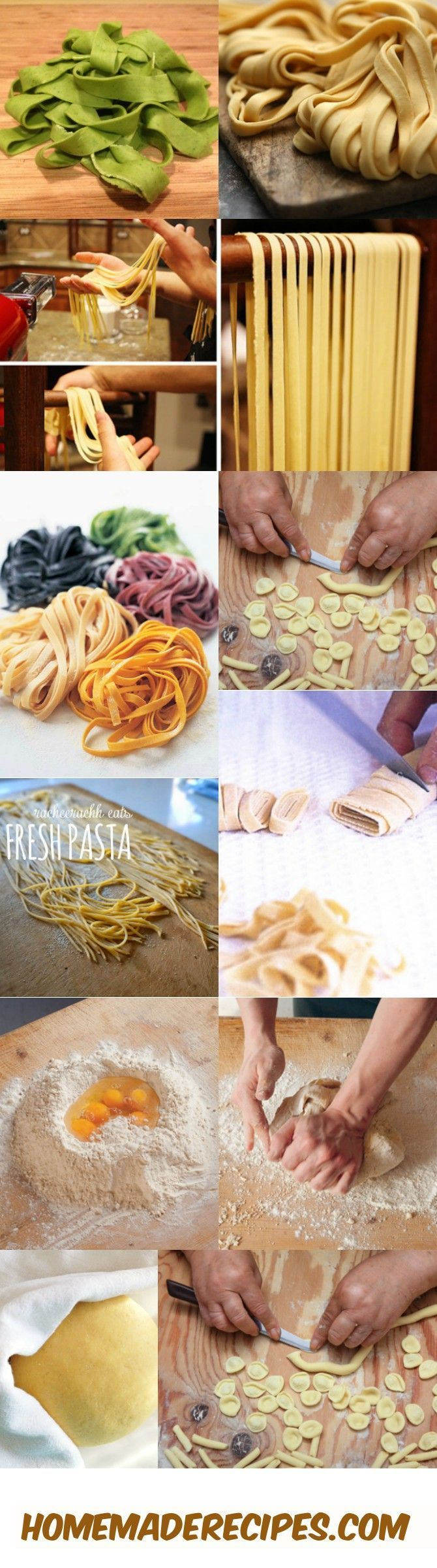 How To Pasta From Scratch | 15 Homemade Pasta Recipes, see more at http://homemaderecipes.com