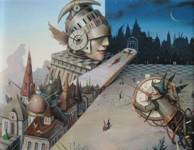 """ArtGalery ° PERSONALART.PL tytuł/title: """"Gorączka snu/Fever of dream autor: Tomasz Sętowski personalart.pl/..."""