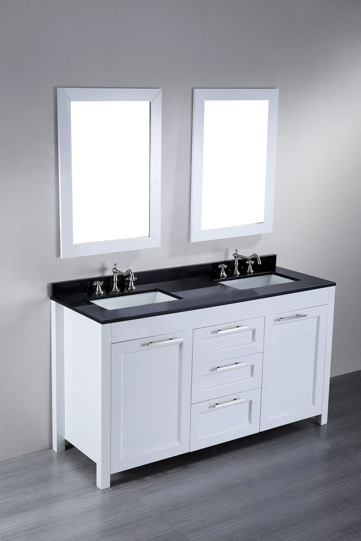 Bosconi Contemporary Double Vanity   Overstock™ Shopping   Great Deals On  Bosconi Bathroom Vanities