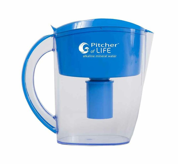 Pitcher of Life Alkaline Water Filter Pitcher (2nd Generation) BPA-Free NEW