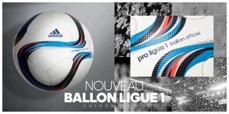 Presentado el balón Adidas con el que se jugará la Ligue 1 2015/16
