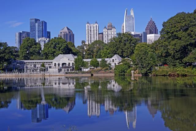 Moving to Atlanta: Weather Statistics: Sunrise over Piedmont Park