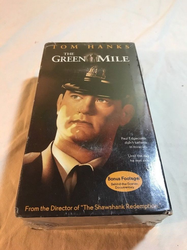 (NEW SEALED) THE GREEN MILE VHS MOVIE TOM HANKS 2 TAPE SET