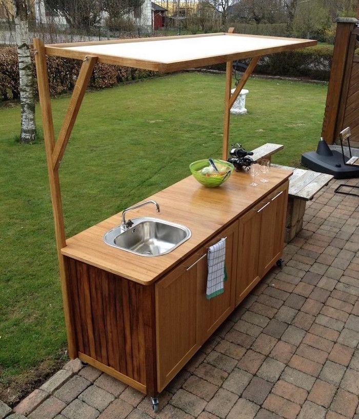 1001 Idees Outdoor Kitchen Plans Simple Outdoor Kitchen