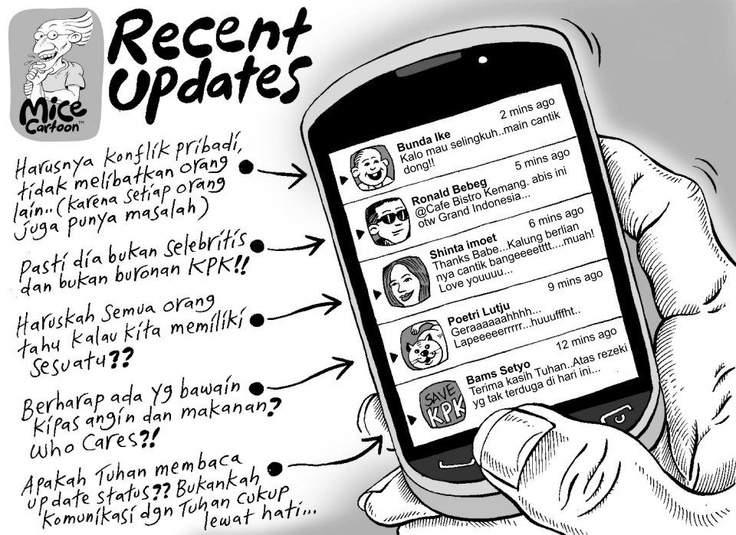 Mice Cartoon: Recent Updates, Kompas Minggu (18.11.2012)