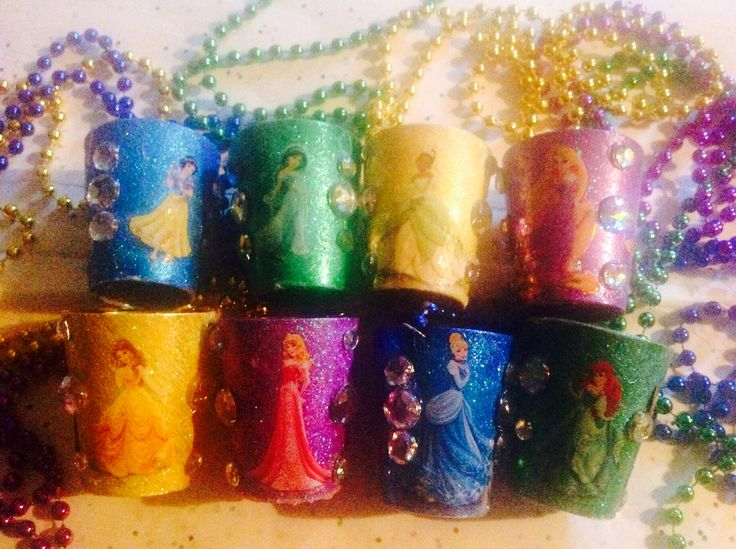 Disney princess shot glasses Disney princess bachelorette party!