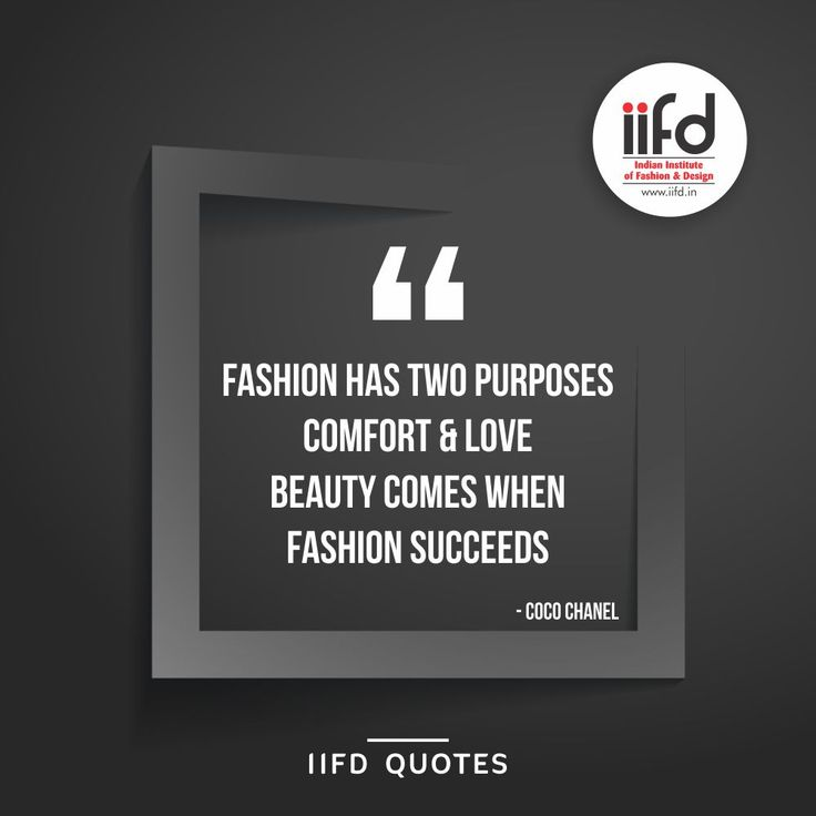 #IIFDQuotes  Fashion is in the sky, in the street, Fashion has to do with ideas, the way we live, what is happening.   Visit www.iifd.in   #best #fashion #designing #institute #chandigarh #iifd #india #fashionquotes