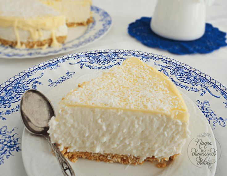 Tarta de Coco sin horno  | Comparterecetas.com