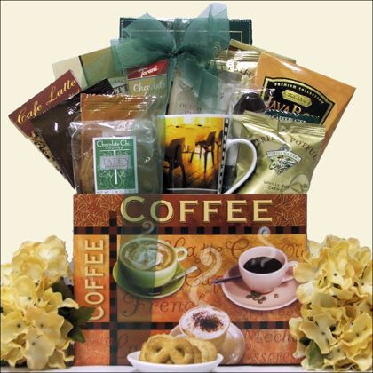 173 best gourmet gifts and food catalogs images on pinterest help jump start their day with this unique gift basket filled with exquisite gourmet coffees negle Gallery