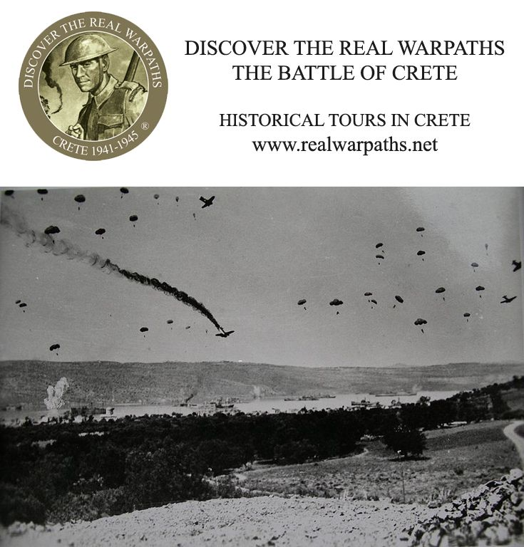Discover the real warpaths - Crete 1941-1945 is a package of historical tours of the island of Crete, providing us with the opportunity to guide you step by step through the major sites of the Battle of Crete (May 1941) and the Resistance that followed.  More info in www.realwarpaths.net  #realwarpaths #Crete