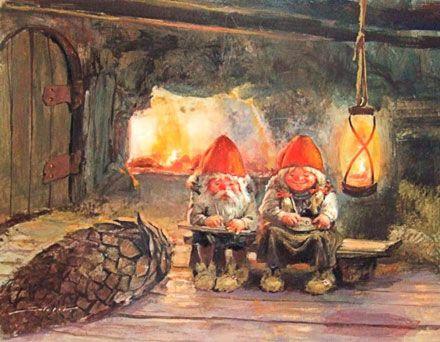 Rælingen kunstforening: Svein Solem, Jul i Blåfjell - og malerier