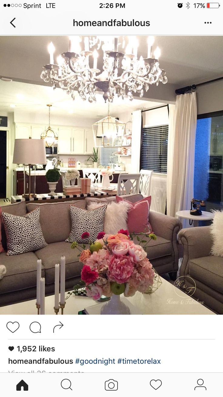 Pin By Kay Kay On Glam Decor In 2019 Living Room Decor
