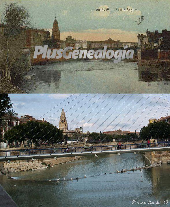 Río Segura antes y ahora. Juan Vicente