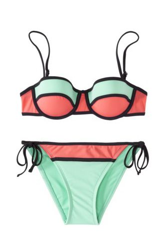 Bikini Break! Target Junior's 2-Piece Swimsuit, $30.98, available at Target.
