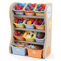 Step2 Fun Time Room Organizer - Tropical Colors