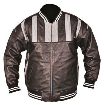 メンズレザージャケット|ストライプ・ボンバー ジャケット - Big Magnolia apparel fashion