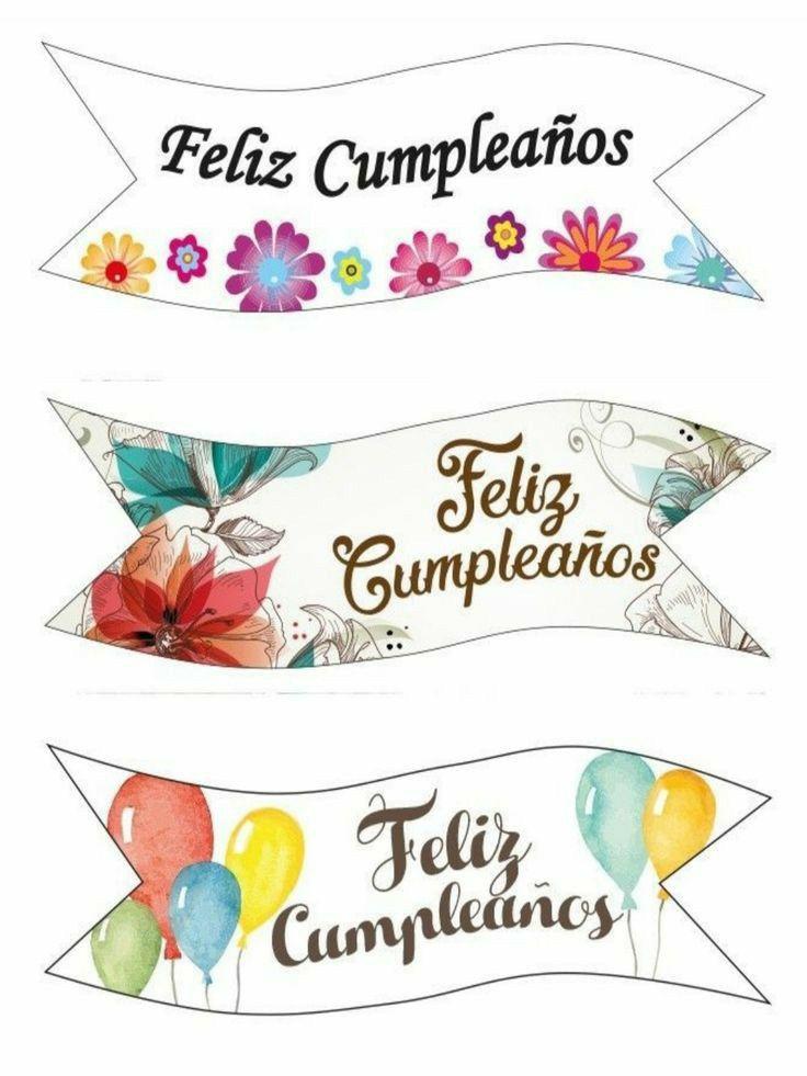 Pin De Alcuervo En Felicidades Imprimibles Feliz Cumpleaños Letrero Feliz Cumpleaños Cartel Feliz Cumpleaños