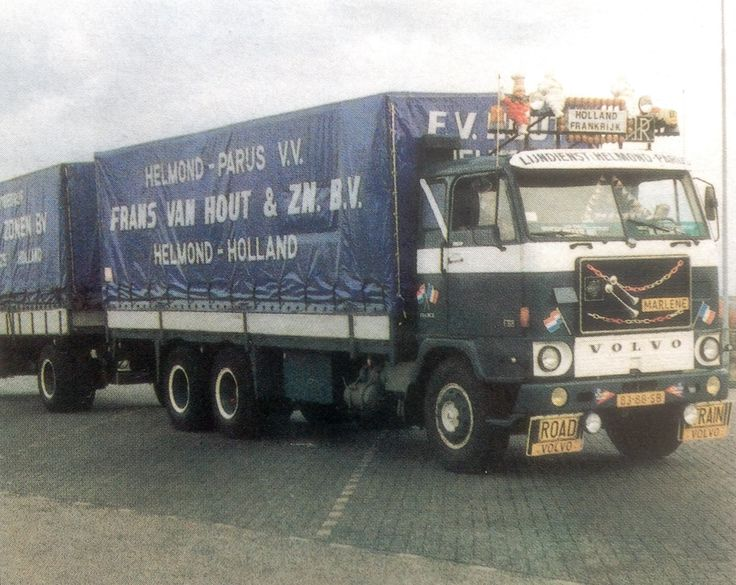 Volvo F 88 int stukgoedvervoer F. v. Hout & Zn.BV