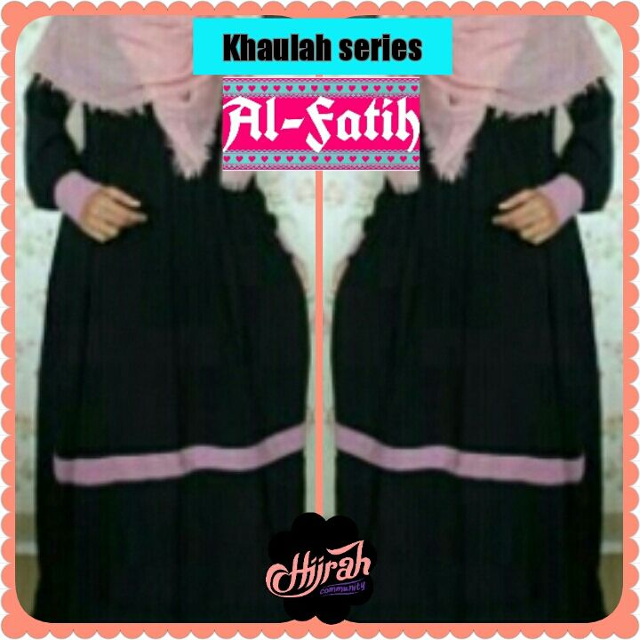 Open PO Gamis Khaulah Al-Fatih By Hijrahijab..  Bahan : Wolfis Harga : 160.000 Reseller : 140.000 (min3pcs) Size : S M L XL (bisa request) Warna : Bisa request  Pemesanan : SMS/CALL : 08972603703 WhatsApp : 085711422938 BBM : 7458BC03  Please visit buff.ly/1PBV1fe http://ift.tt/1NBPggf