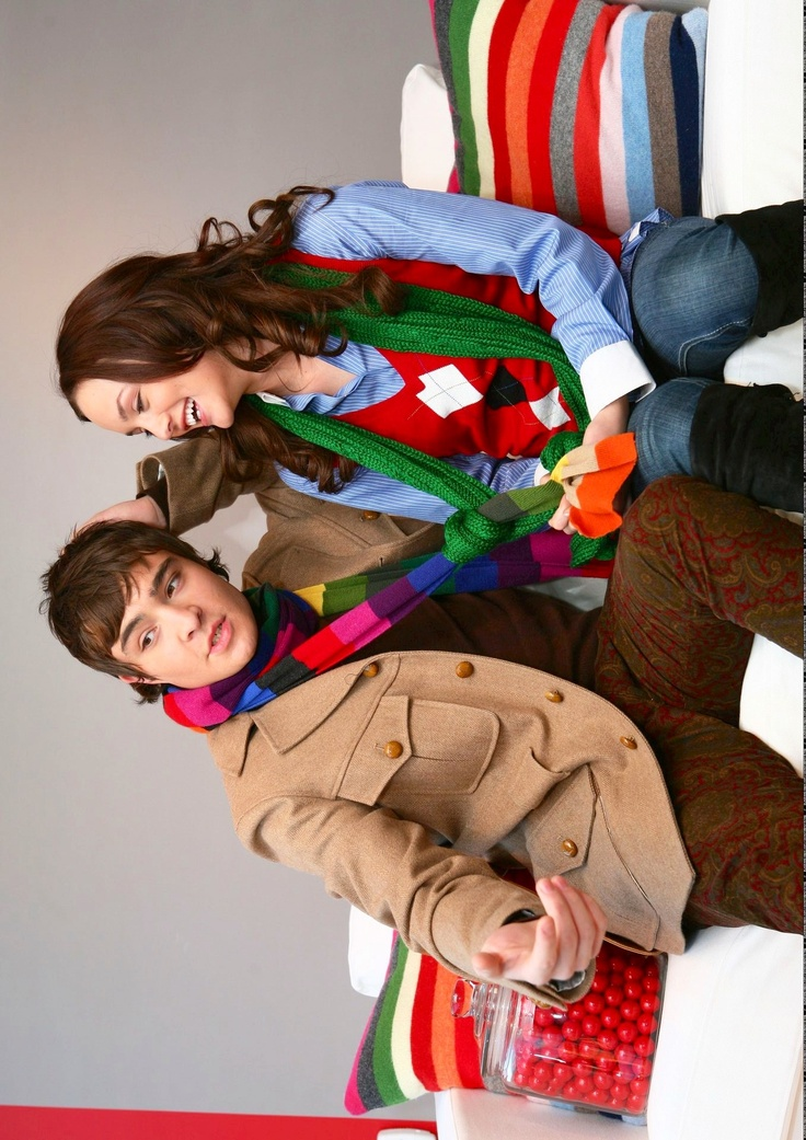 Ed Westwick & Leighton Meester | Gap Holiday Ad