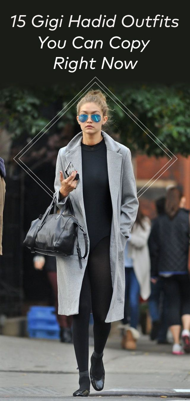 15 Gigi Hadid Outfits You Can Copy Right Now