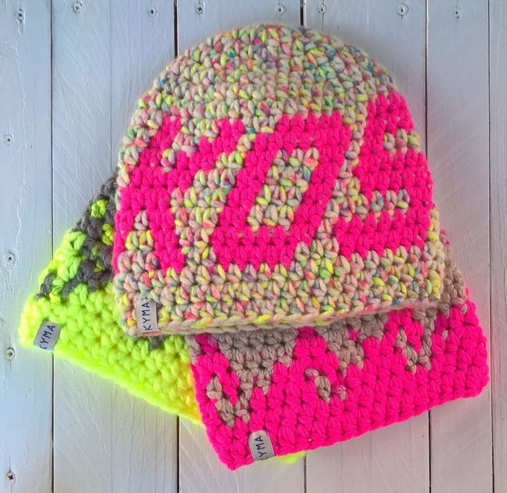 handmade ~ surfer + climber beanie ~ surfbeanie ~ crochet hat ~ neon pink ~ surfstyle ~ http://kymastyle.com ~ shop: http://kymastyle.dawanda.com
