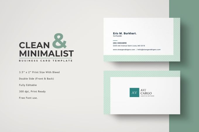 Exceedcreatives I Will Design Business Card Letterhead And Invoice For 15 On Fiverr Com Business Card Design Company Business Cards Minimalist Business Cards