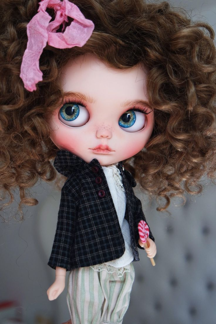 "OOAK Custom Blythe Doll ""MILA"" by Cihui by BlythebyCihui on Etsy (null)"