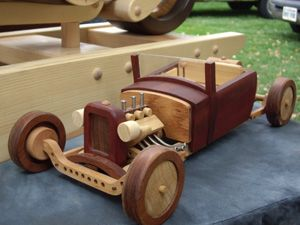 Cool toy wooden car. Link doesn't work. I think I could figure out how to make it anyway.