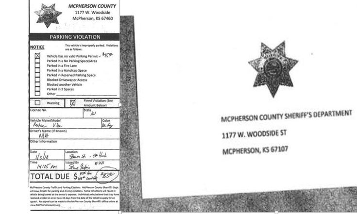 """SCAM ALERT – KANSAS – PARKING TICKET SCAM ALERT - McPherson County Sheriff's Office warns of possible scam involving fake parking tickets – 'The sheriff's office says it recently learned someone received a fake ticket for a parking violation. Whoever wrote the bogus ticket claimed it was from the McPherson County Sheriff's Office.  """"The ticket instructions say to contact the McPherson County Sheriff's Office within 10 days if you feel it was wrongfully issued,"""" the sheriff's office says.'…"""