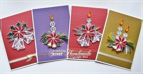 • Sweet Handmade •: Felicitari de Craciun