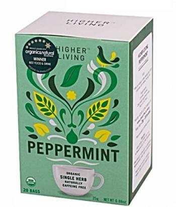 Herbata Peppermint (20 saszetek, 25 g) - Higher Living