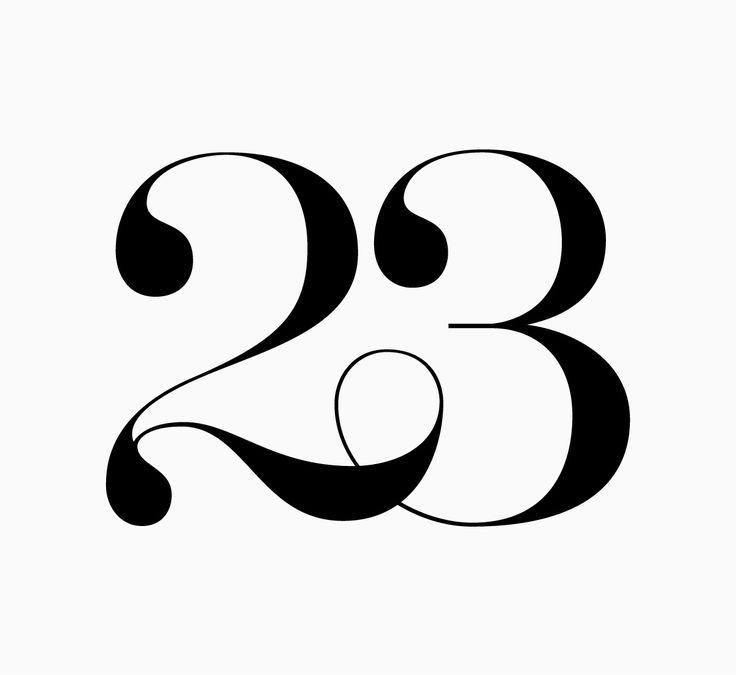 Картинка с числом 23, выходом работу