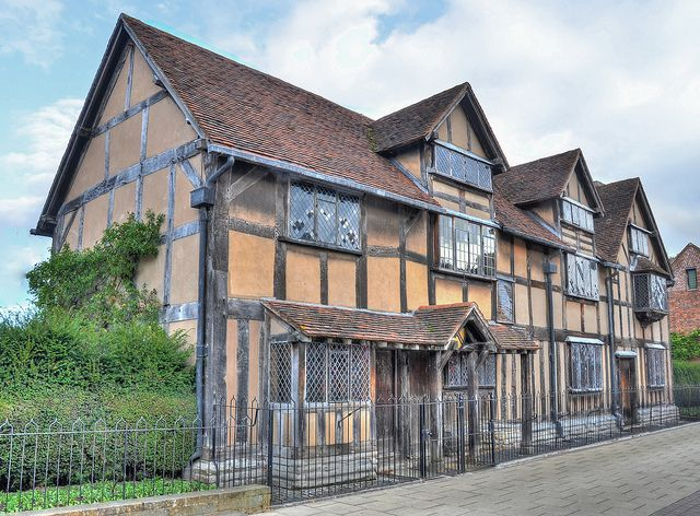 Shakespeare's birthplace, Stratford-upon-Avon, Warwickshire As a retired English/ESL teacher, this calls me to visit