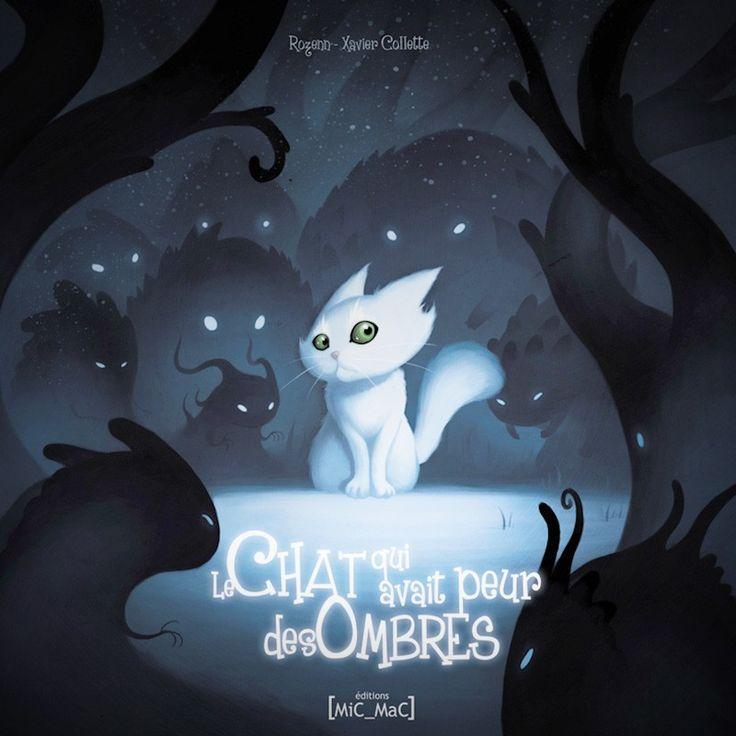 Le chat qui avait peur des ombres Book on shop.xaviercollette.com