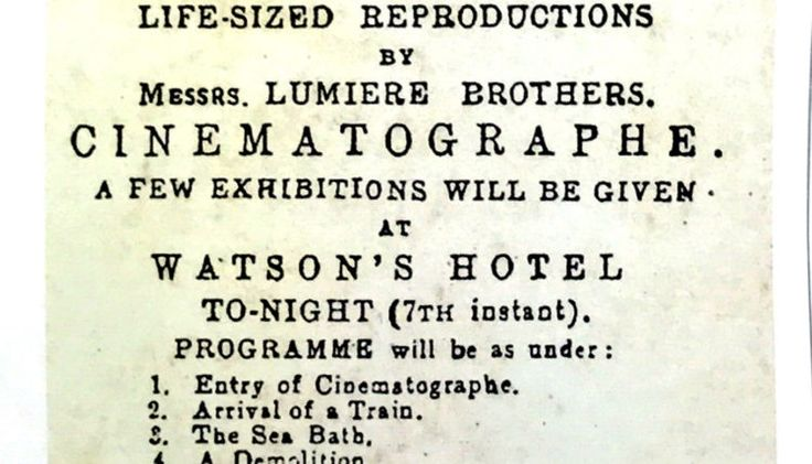 lumieres brothers film screening in india