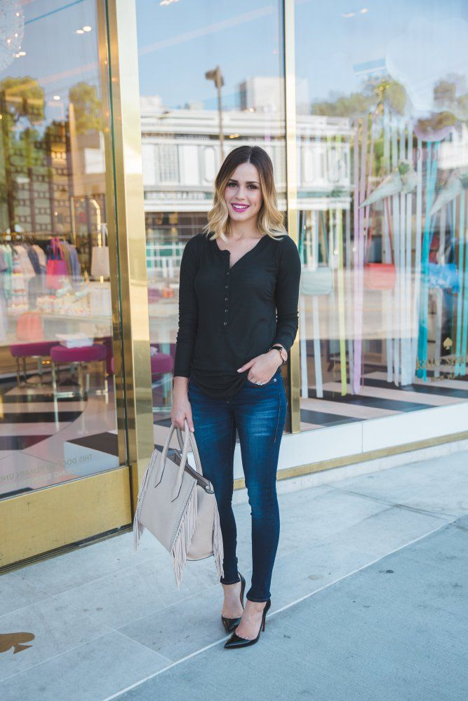 Back to Basics- 5 Closet Staples you need in your closet |  Uptown with Elly Brown @truereligion