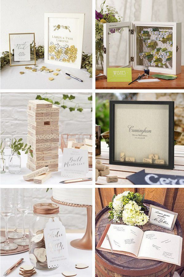 Guest Books Alternatives Order A Wedding Guestbook Youll Love
